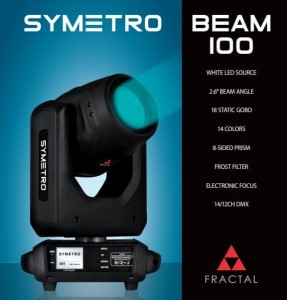 Fractal Lights SYMETRO BEAM 150