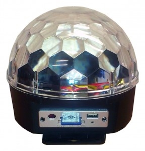 LED MAGIC BALL 3x3W RGB MP3