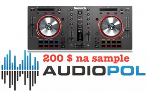 Numark Mixtrack III + Virtual DJ LE 8 + 200 Dolarow