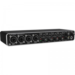 Behringer UMC404HD interfejs audio z preampem MIDAS 4x4