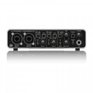 Behringer UMC204HD interfejs audio/MIDI 2x4