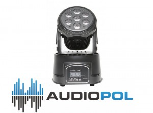 FRACTAL MINI LED MOVING HEAD 7 x 10 W