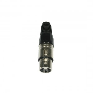 AC-C-X3F Plug XLR 3pin female