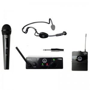 AKG WMS 40 MINI 2 DUAL VOCAL MIX + C544 L