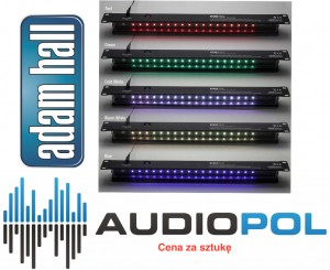Led Lampa Rack 1U Adam Hall Array Rack Multicolor Lampka