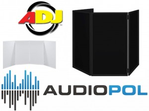 Event Facade Dj Screen Parawan Dwa Kolory